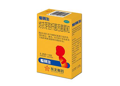 地衣芽孢杆菌活菌颗粒0.25*12袋